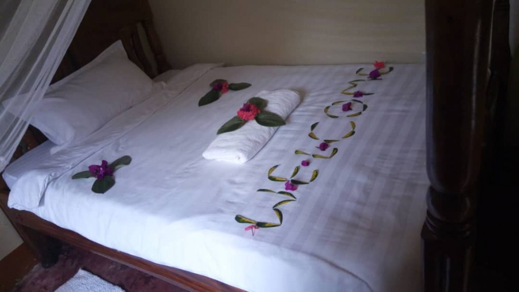 Rooms at Lake Bunyonyi Rock Resort