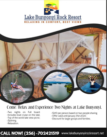 Offers at Lake Bunyonyi Rock Resort